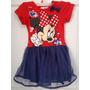 Minnie Mouse Vestido Para Ninas 100% Original