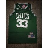 Camiseta Boston Celtics N B A - #33 Bird -