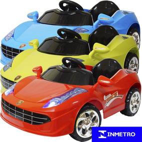 Mini Carro Elétrico Infantil Criança Bateria 6v Ferrari