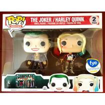 Funko Pop Suicide Squad Harley Quinn Joker Acabado Metálico