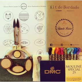 Kit De Mini Bordado 2018 Recargado Minibastidores