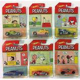 Hot Wheels Snoopy Peanuts 2017 Completa Set De 6 Carritos