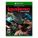 Killer Instinct Definitive Edition Xbox One ¡nuevo Sellado!
