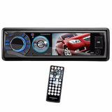 Toca Cd Dvd Automotivo Tela 3.0 Com Bluetooth/usb/sd P/ Carr