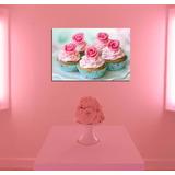 Cuadro Cupcakes Muffins Reposteria Pastel Torta Deco 20x30cm