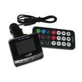 Transmisor Para Auto Radio Fm Y Mp3 Con Pantalla Led A 12v