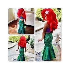 Disfraz Vestido Sirenita Ariel
