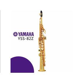 Sax Soprano Copia Yamaha Yas 82z Custom Profissional