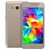 Samsung Grand Prime 8gb Cam 8mpx Dorado Nuevo Con Detalle