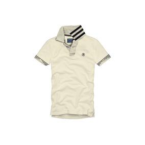 Camiseta Tipo Polo Rosé Pistol Para Hombre - Beige