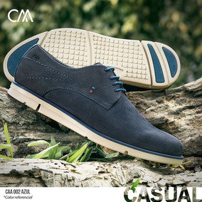 Zapato Casual Calimod Color Azul Caa002 Tallas 39 Al 44
