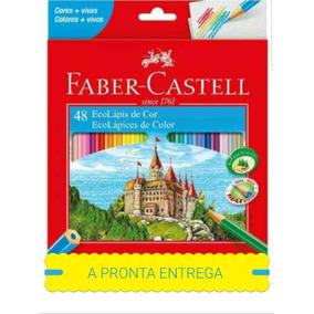 Lápis De Cor Faber Castel 3x48 Cores Com 3 Apontadores