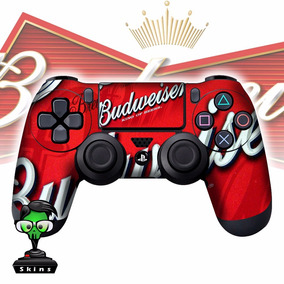 Adesivo Controle Ps4 Budweiser Melhor Skin Do Mercado Livre