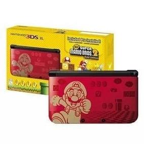 Nintendo 3ds Xl Super Mario Bros 2 Edição Limitada