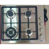 Tope De Cocina Rania 60cm De Acero Inox 4 Hornillas Ra0423dw