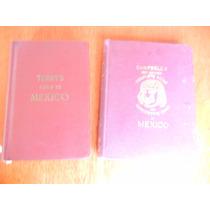 2.- Antiguos Libros Guías De Viaje De México 1904 Y 1947
