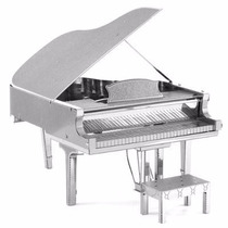 Rompecabezas 3d Piano Cola Fascinations Metal Earth Mms080