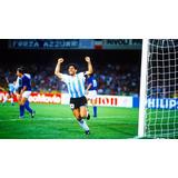 Todos Los Partidos De Argentina En Italia 1990 Dvd Maradona