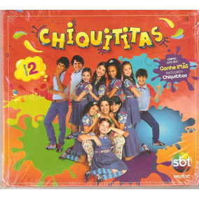 Cd Chiquititas - Volume 2 ( Lacrado ) 2013