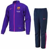 Conjunto Pants Nike Barcelona España Autentic Mod 2015-2016