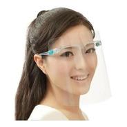 Careta Facial Protectora Soporte Lente Armazón/mica C/10 Pzs
