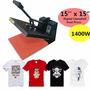 Prensa De Máquina Sublimación Camiseta38x38cm
