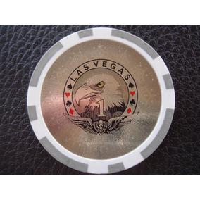 U.s.a. - Ficha Casino Las Vega, $1 Modelo Silver Eagle Laser