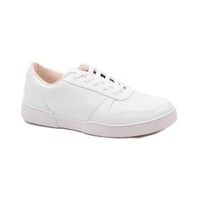 Zapatillas Blancas Hombre - Puro Cuero