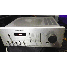 Gradiente Model 80 Stereo Amplifier Oldschool Vintage