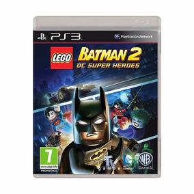 Jogo Lego Batman 2 Dc Super Heroes Mídia Física - Ps3