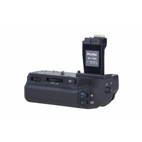 Battery Grip Phottix Bg-750d P/ Canon T6i T6s 760d 750d