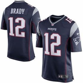 Jersey #12 Brady, #87 Gronkowski, Futbol Americano Patriotas