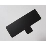 Base Rectangular Ppm Pestaña 13x4,5 Cm (x100) Negro Mármol