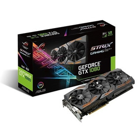 Placa Video Nvidia Asus Gtx 1080 Rog Strix Oc 8gb Gddr5x