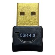 Adaptador Usb Bluetooth 4.0 Csr Dongle Computador Notebook