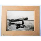 Antigua Gran Fotografia Original Avion Junker Ju-160 1934