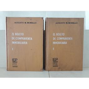 Derecho. Boleto Compraventa Inmobiliaria 2 Tomos. Morello