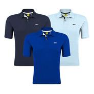Kit 3 Camisa Gola Polo Fish Piquet Camiseta Atacado Revenda
