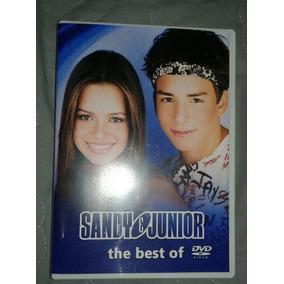 Dvd Sandy E Junior - The Best Of (duplo) Video Clipes