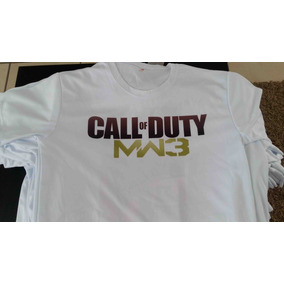 Playera Sublimada Call Of Duty Modern Warfare