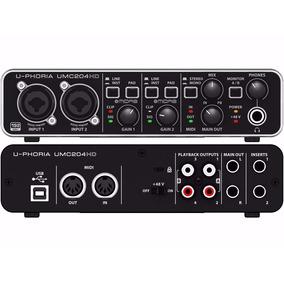 Interface Behringer Umc204hd Bm Champagnat Tvl