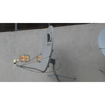 Antena Satelital De 90cm Nueva Completa En Salta Y Tucuman