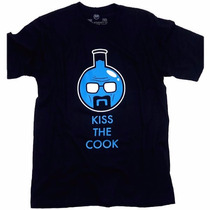 Camiseta Breaking Bad Kiss The Cook Heisenberg Walter White
