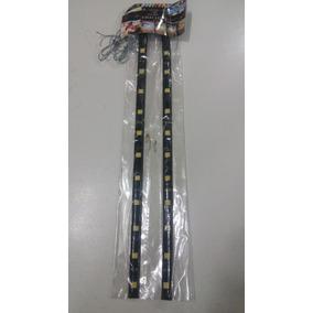 Fita Led Super Branca 30cm 12leds Farol- Painel 12 V - Par