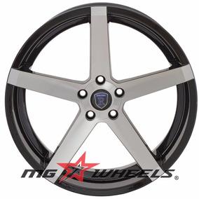 Jgo Rines 22x9 6-135 Sportiva Morbus Negro Diamantado Et20