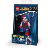Llavero Lego Dc Comic Harley Quinn Con Luz Key Light Nuevo
