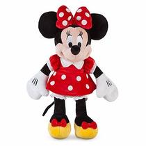 Boneca Pelúcia Minnie Mouse Vermelho Original Disney 50cm