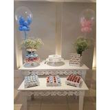 Aluguel Mesa Decorativa Provençal Festa Aniversário - Kit 1