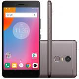 Smartphone Lenovo Vibe K6 Plus 32gb Octa Core Grafite + Nf-e