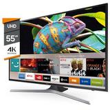 Smart Tv 4k Led Samsung 55 Ultra Hd Hdr 55mu6100 12 Cuotas!!
